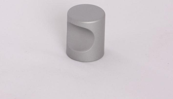 Alu knop, diameter 25mm